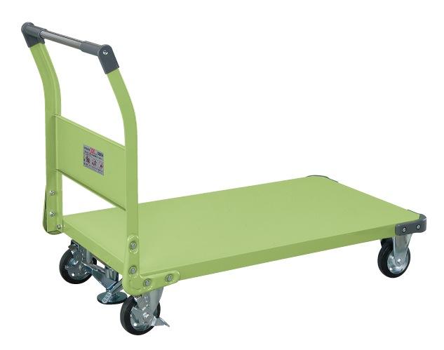 特製四輪車 フロアストッパー付 TAN-66F【代引き不可】