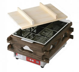 マイコン 電気おでん鍋 CVS-6D (6ツ切)【代引き不可】【【業務用】【おでん鍋】【業務用おでん鍋 電気式】【エイシン】