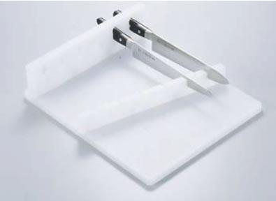 PE6本用水平式庖丁置き台 【業務用包丁】【ナイフブロック】【包丁差し】【業務用】