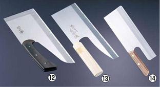 切れ者 ステン別型麺切庖丁 A-0020 【麺切り庖丁】【製麺用品】【業務用】