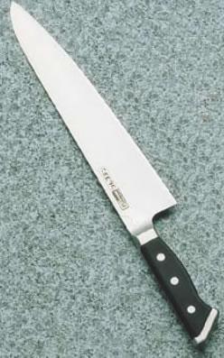 グレステンWタイプ 牛刀 724WK 24cm【業務用包丁】【洋包丁】【キッチンナイフ】【洋食包丁】【GLESTAIN】【業務用】