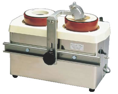 水流循環式 電動刃物研機 ツインシャープナーMSE2W型【代引き不可】【包丁研ぎ】【業務用】