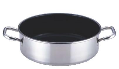 SAパワー・デンジ アルファ 外輪鍋 30cm(蓋無)【ステンレス外輪鍋】【電磁調理器対応】【IH対応】【業務用鍋】【Power denji】【ストロングコート加工】【業務用】