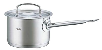 フィスラー 18-10深型ソースパン 84-163(蓋付) 18cm【ステンレス片手鍋】【電磁調理器対応】【IH対応】【業務用鍋】【ソースパン】【Fissler】【業務用】