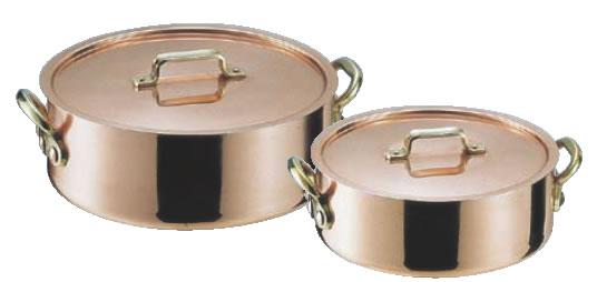 SAエトール銅 外輪鍋 33cm【代引き不可】【銅外輪鍋】【業務用鍋】【Ωエトール】【業務用】【銅鍋】