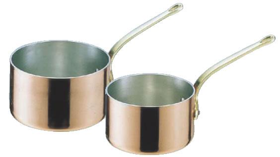 SAエトール銅 片手深型鍋 15cm【銅片手鍋】【業務用鍋】【Ωエトール】【業務用】【銅鍋】