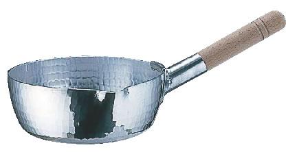 アルミ 本職用 手打雪平鍋(3mm厚) 25.5cm【アルミ片手鍋】【アルミ雪平鍋】【業務用鍋】【業務用】