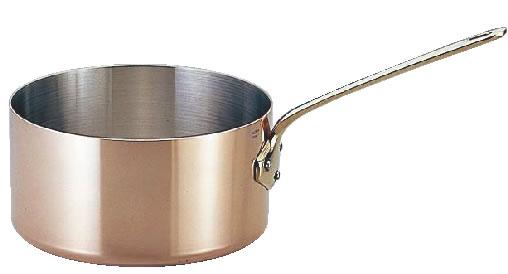 モービルカパーイノックス片手深型鍋 (蓋無)6520.18 18cm【銅鍋】【mauviel】【業務用】