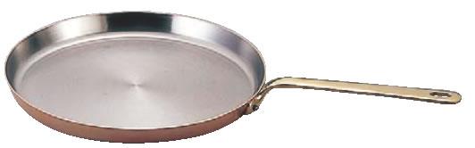 モービルカパーイノックスクレープパン 6535.30 30cm【代引き不可】【銅フライパン】【mauviel】【業務用】