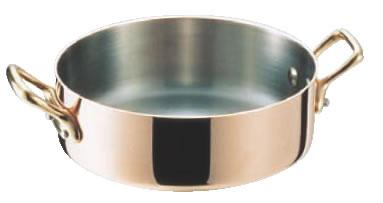 モービル No.602B シャローパン 24cm【代引き不可】【銅鍋】【mauviel】【業務用】