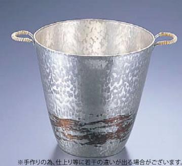 銅錫被 刷毛目ワインクーラー SG001【代引き不可】【シャンパンクーラー】【ボトルクーラー】【ワインクーラー】【業務用】