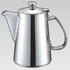 UK18-8チボリ型コーヒーポット 5人用【ステンレスティーポット】【業務用】