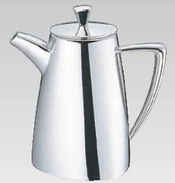 UK18-8トライアングルシリーズ コーヒーポット 5人用【ステンレスティーポット】【業務用】