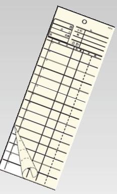 会計伝票 2枚複写 K615 (50枚組×20冊入)【伝票紙】【業務用】