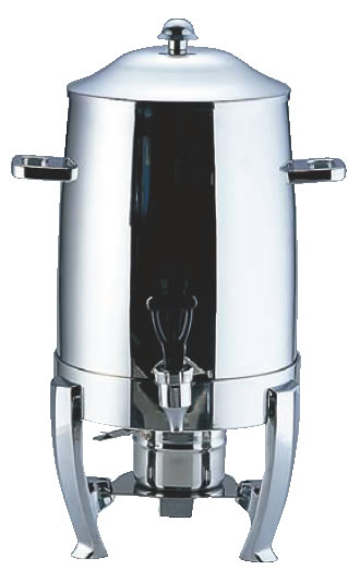 UK18-8コーヒーアーン 10501 (固形用ランプ付)【代引き不可】【バイキング ビュッフェ】【バンケットウェア】【皿】【18-8ステンレス】【業務用】