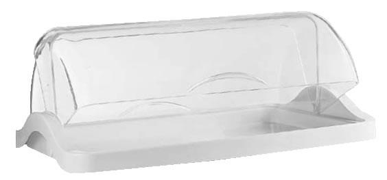グッチーニダブルオープンブレットケース 1段1881.0011ホワイト【バイキング ビュッフェ】【バンケットウェア】【皿】【Guzzini】【業務用】