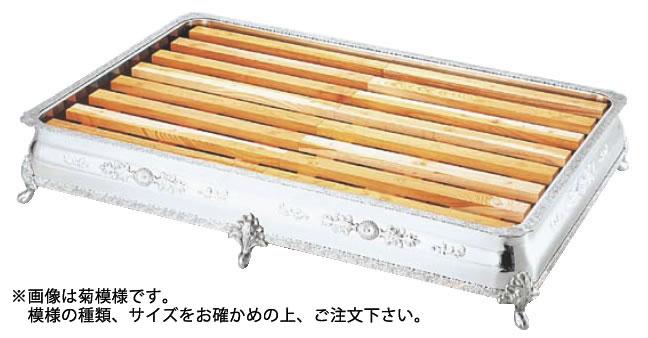UK 18-8広渕 氷彫刻飾台 30インチ バラ