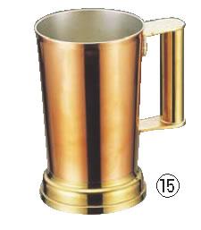 SW銅ビアジョッキー 1000cc 【コップ グラス マグ ジョッキ】【アルコールグッズ】【グラス 食器】【グラス カップ 酒器】【業務用】
