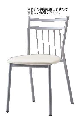 パイプチェア(レザー張り) SCS-8550【代引き不可】【いす】【イス】【ダイニングチェア】【レストランイス】【飲食店椅子】【業務用】