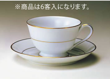 チャイナ カップ&ソーサー6客入 3859C・S/7050【Noritake】【ノリタケ】【コーヒーカップ】【コーヒーコップ】【ティーカップ】【ティーコップ】【紅茶カップ】【業務用】