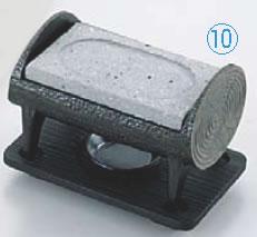 丸太石焼セット ST-471 【代引き不可】【宴会用卓上鍋類 卓上焼セット】【料理演出用品】【石焼プレート】【石焼皿】【業務用】