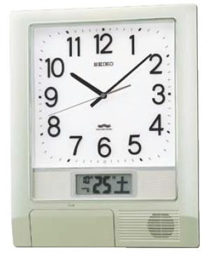 セイコー 電波プログラム クロック PT201S【掛け時計】【掛時計】【ウォールクロック】【業務用】