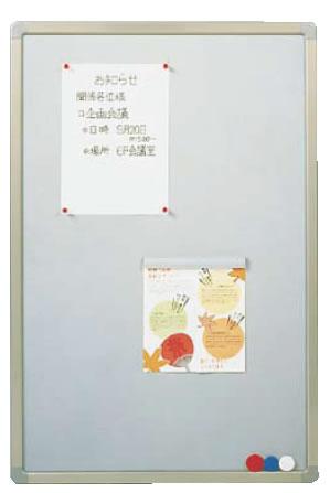 ピン・マグネット両用掲示板 ソフトM アイボリー YFM912【代引き不可】【業務用】