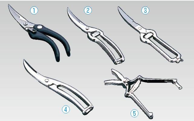 ヴォストフ 鳥バサミ 5501【scissors】【剪刀】【業務用】