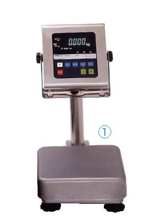防水・防塵デジタル台秤 15kg HV-15KVWP-K【代引き不可】【計量器】【重量計】【測量器】【業務用】