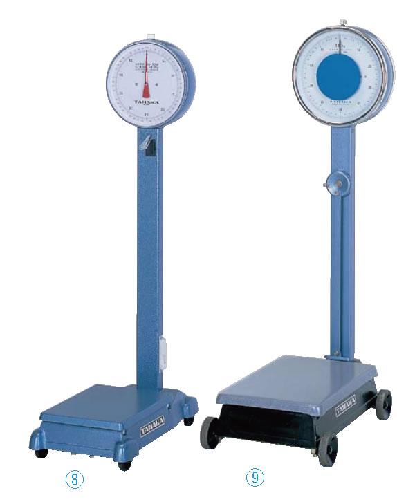 自動台秤 C-800-50(車付) 50kg【代引き不可】【計量器】【重量計】【測量器】【業務用】