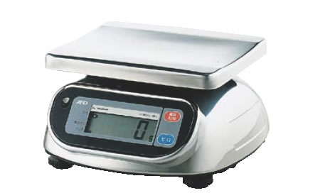 防水・防塵デジタル秤 20kg SL-20KWP【計量器】【重量計】【測量器】【業務用】