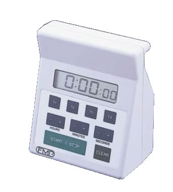 4chデジタルキッチンタイマー 151-7500【ストップウオッチ】【業務用】