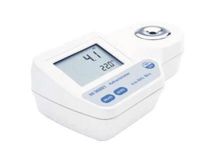 ハンナポータブル型 デジタル糖度計 HI96801【計測器】【業務用】