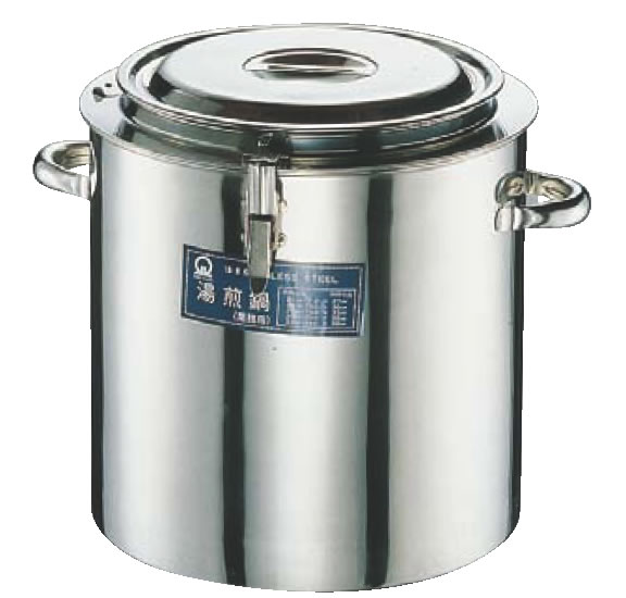 SA18-8湯煎鍋 27cm【代引き不可】【ステンレス鍋】【業務用】