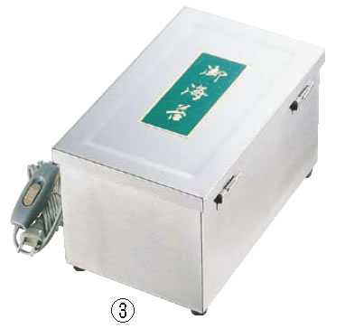 SA18-8 A型電気のり乾燥器 (電球式)【海苔缶】【業務用】