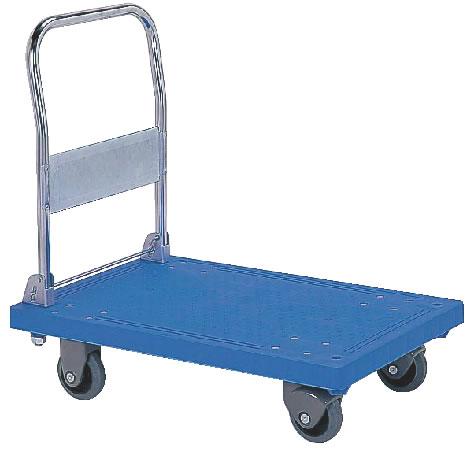 静か台車クリーン(折りたたみ式) SS 【業務用運搬台車】【 ワゴン 台車 カート】【業務用】