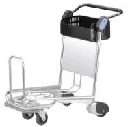 プッシュカート(航空旅客用手荷物カート) PC-703【代引き不可】【業務用運搬台車】【 ワゴン 台車 カート】【業務用】