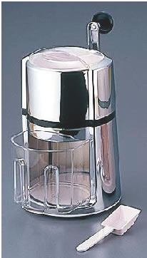 手動式 アイスクラッシャー WNIC-TOP-C クローム【かき氷機】【かき氷器】【業務用】