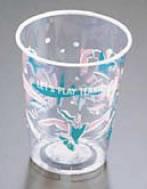 プラストカップ(コールド用)275G ジョイフルタイム(2500入) 【サービス用品 フリードリンク】【紙コップ プラスチックカップ】【軽食】【スナック包材 使い捨て容器】【ドリンク用品】【業務用】