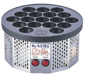 たこ焼き 電気式 半自動踊るたこ焼き器 たこ焼き器 たこ焼き機 日時指定 業務用 縁日用品 鉄板焼用品 直送商品
