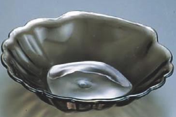 アクリル ビフェーシェル スモーク BB136S【代引き不可】【フードバー サラダバー】【バイキング ビュッフェ】【バンケットウェア】【盛器 大皿】【業務用】