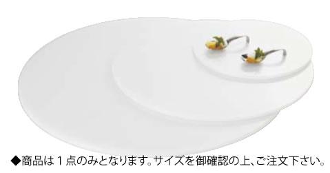 アクリルブッフェトレイ 丸ホワイト W0051 M【アクリルディスプレイ スタンド】【バイキング ビュッフェ】【バンケットウェア】【皿】【業務用】