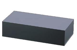 アクリル ディスプレイBOX 中 黒マット B30-9【アクリルディスプレイ スタンド】【バイキング ビュッフェ】【バンケットウェア】【皿】【業務用】