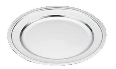 SW18-8モンテリー丸皿 18インチ【バイキング ビュッフェ】【バンケットウェア】【皿】【18-8ステンレス】【業務用】
