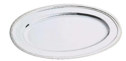 SW18-8菊渕小判皿 (魚皿兼用)40インチ【代引き不可】【バイキング ビュッフェ】【バンケットウェア】【皿】【18-8ステンレス】【業務用】