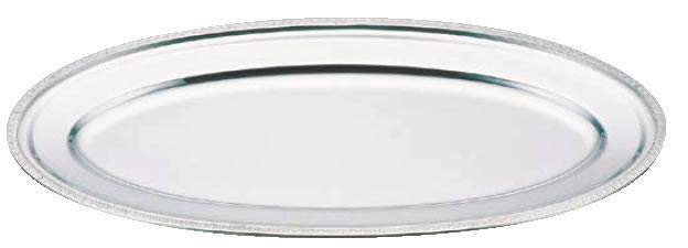 UK18-8菊渕魚皿 20インチ【バイキング ビュッフェ】【バンケットウェア】【皿】【18-8ステンレス】【業務用】