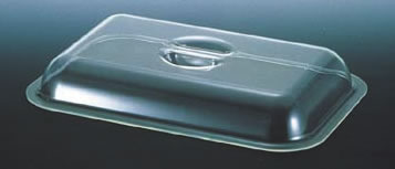 UKポリカ製角チェーフィング用カバー 20インチ用【スタンド】【飾り台】【業務用】