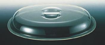 UKポリカ製小判チェーフィング用カバー 18インチ用【スタンド】【飾り台】【業務用】