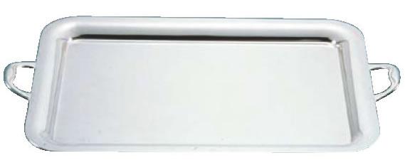 衝撃特価 UK18-8プレーンタイプ角盆 26インチ(手付)【バイキング】【ビュッフェ】【バンケットウェア】【皿】【18-8ステンレス】【業務用】, コスメさくら 1f68d29e