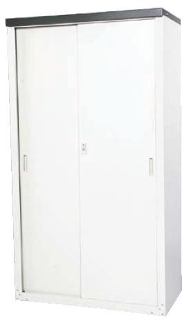 家庭用収納庫 HS-162【代引不可】 【用具入れ 収納庫】【清掃道具 掃除道具】【業務用】